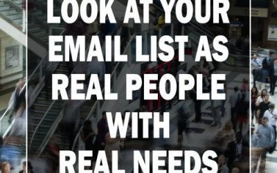 It's Not an Email List, It's a Relationship