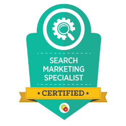 search marketing specalist certification