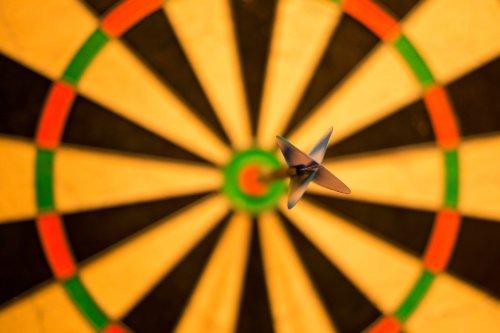 target dartboard bullseye